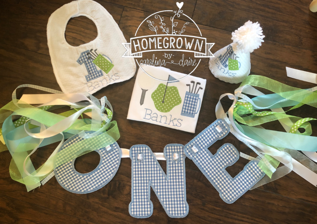 Embroidery in Madison, Alabama: 18 months later after Goodall purchased her machine, she is pushing full steam ahead providing high customizable items...