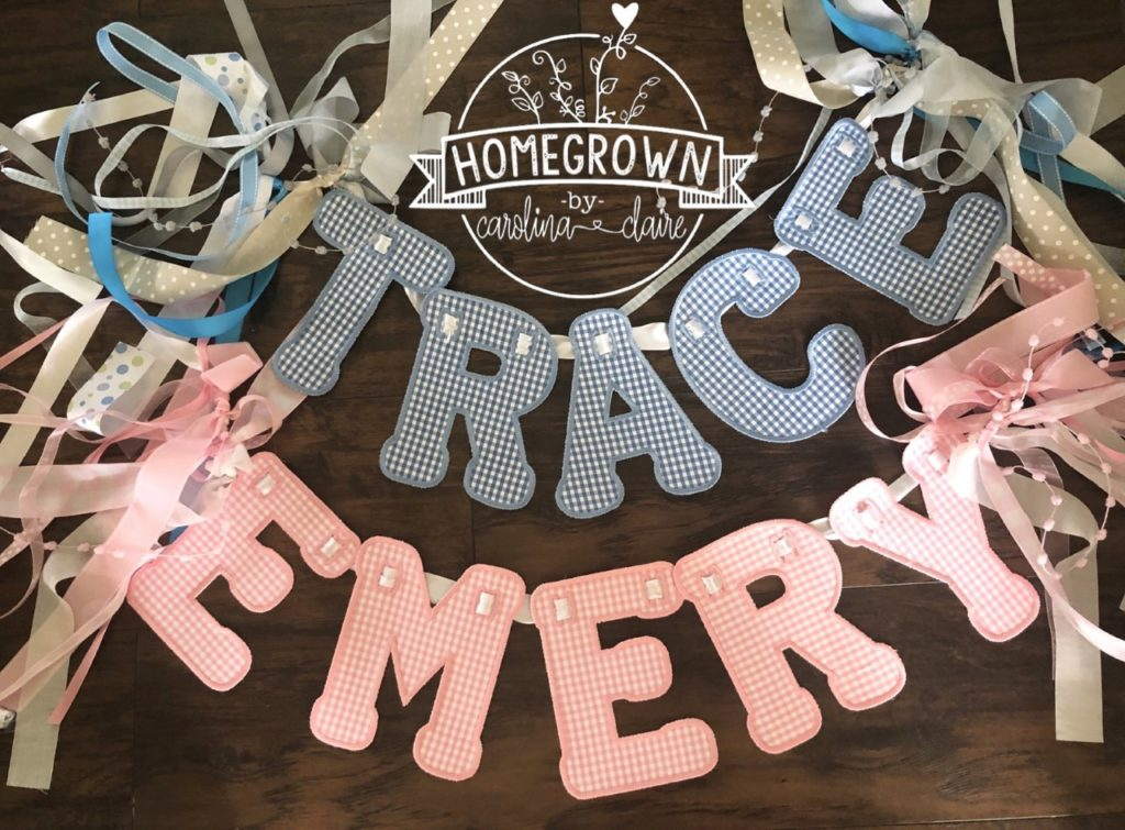 Homegrown by Carolina Claire Embroidery in Madison, Alabama: 18 months later after Goodall purchased her machine, she is pushing full steam ahead providing high customizable items...
