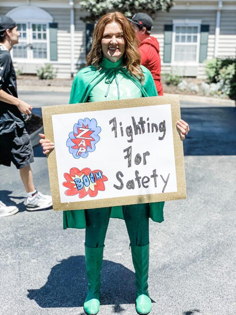 Morningside of Madison Senior Living Community: Superhero parade boosts morale
