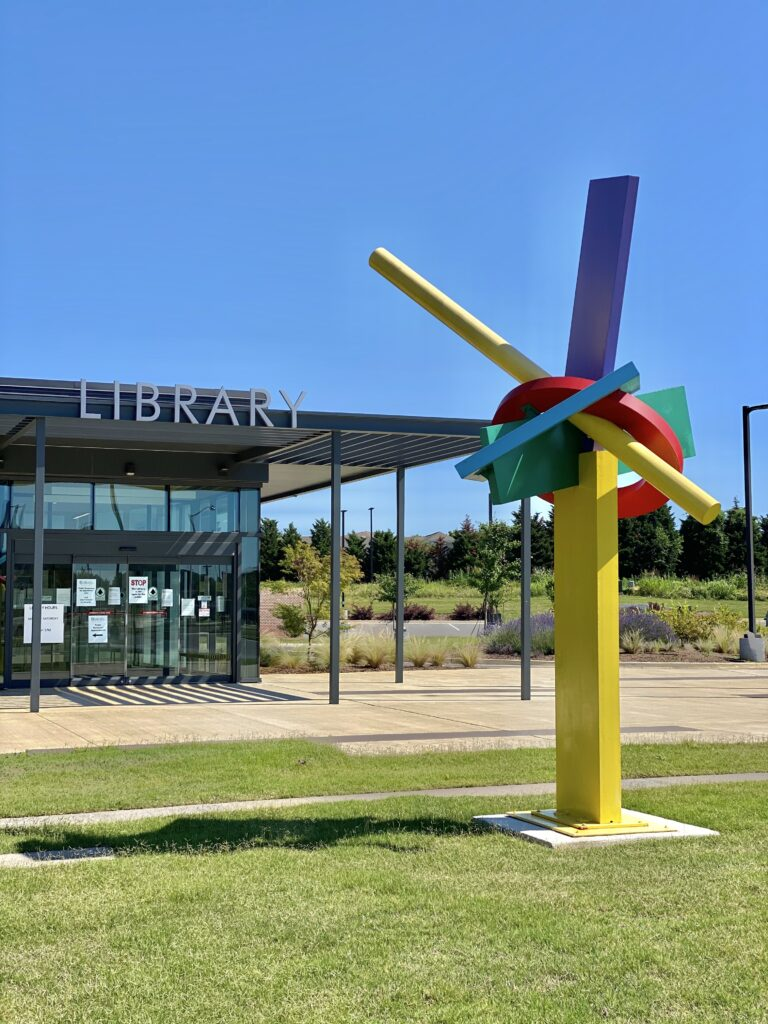 In May, the library implemented curbside drop-off and pick-up. Through their safe, quick, and efficient system, dropping off and picking up library resources has never been easier.