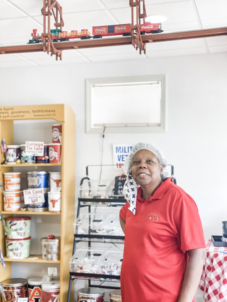 Zion Popcorn extends far beyond popcorn though, which is often such a pleasant surprise for customers who are coming in expecting just popcorn options. From gelato to homemade fudge to chocolate to kosher candy and more, Polk knows how to bring a smile to her customers' faces.