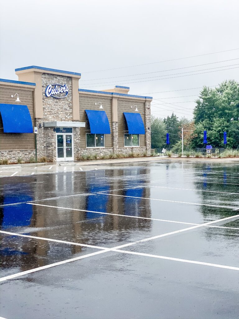 Culver's in Madison Alabama: Even picky eaters will have trouble deciding between the famous butter burgers, a fresh salad, or the homestyle Reuben.