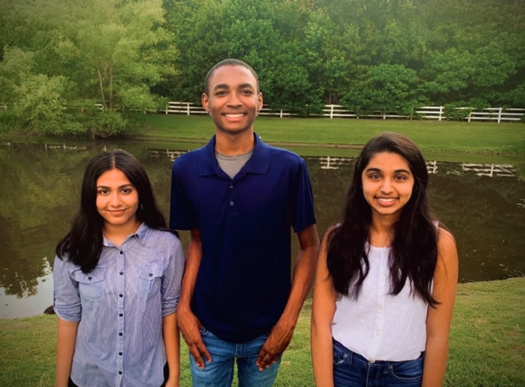 Patel, Wyche, and Sunil are students at James Clemens High School and are the highly motivated founders of The Teen View, an op-ed style website designed to give young people a platform to share their social, cultural, and political view as a means of informing others. Teenview.net
