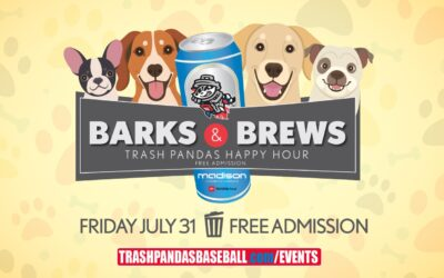 Free Barks & Brews Happy Hour Event at Toyota Field