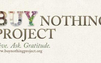 "Join Madison's ""Buy Nothing Project"""