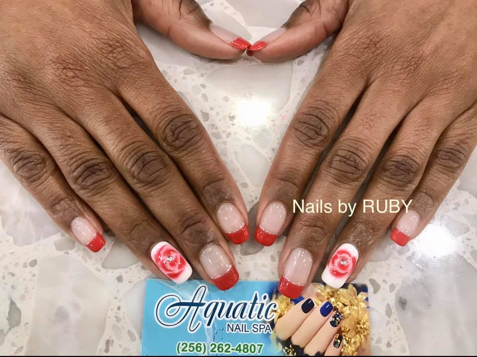 Aquatic Nail Spa on County Line Road in Madison, Alabama: Aquatic Nail Spa has revamped all of their procedures to make sure that they've crossed every T...