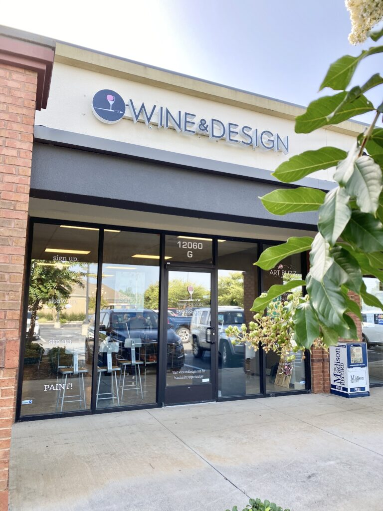 """Maria Troupe, co-owner of our local Wine & Design, shared that """"obviously we are a paint and sip"""", but that this business offers five divisions that make it so much more than what some customers may be expecting this business to be."""