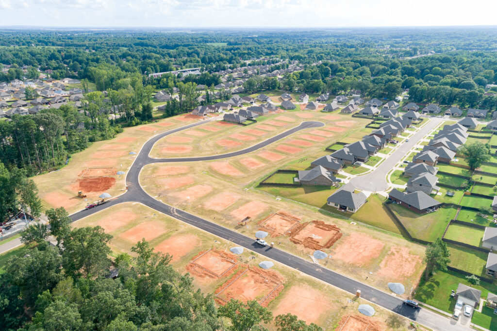 Check out this list below of new construction neighborhoods in Madison, Alabama that have either started building homes very recently...