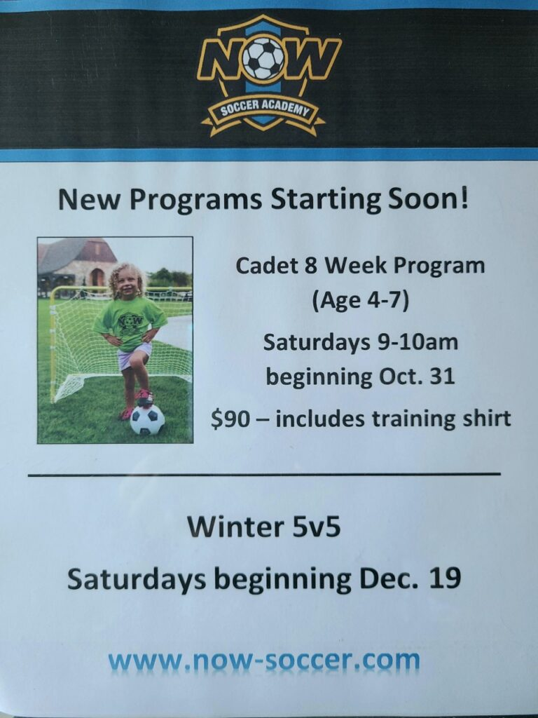 NOW Soccer in Madison Alabama | NOW Soccer is a training academy that focuses on individual skills in a one-on-one or very small...