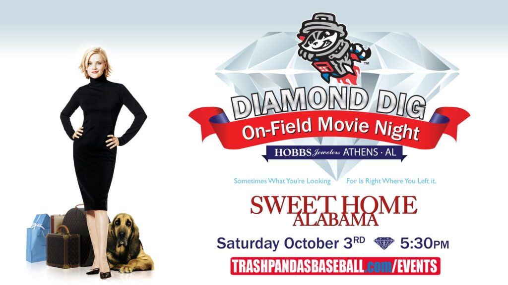 Trash Pandas Event: Diamond Dig -They'll be sprinting around for good reason though: There's a $5,000 diamond up for grabs to the lucky participant that finds it!