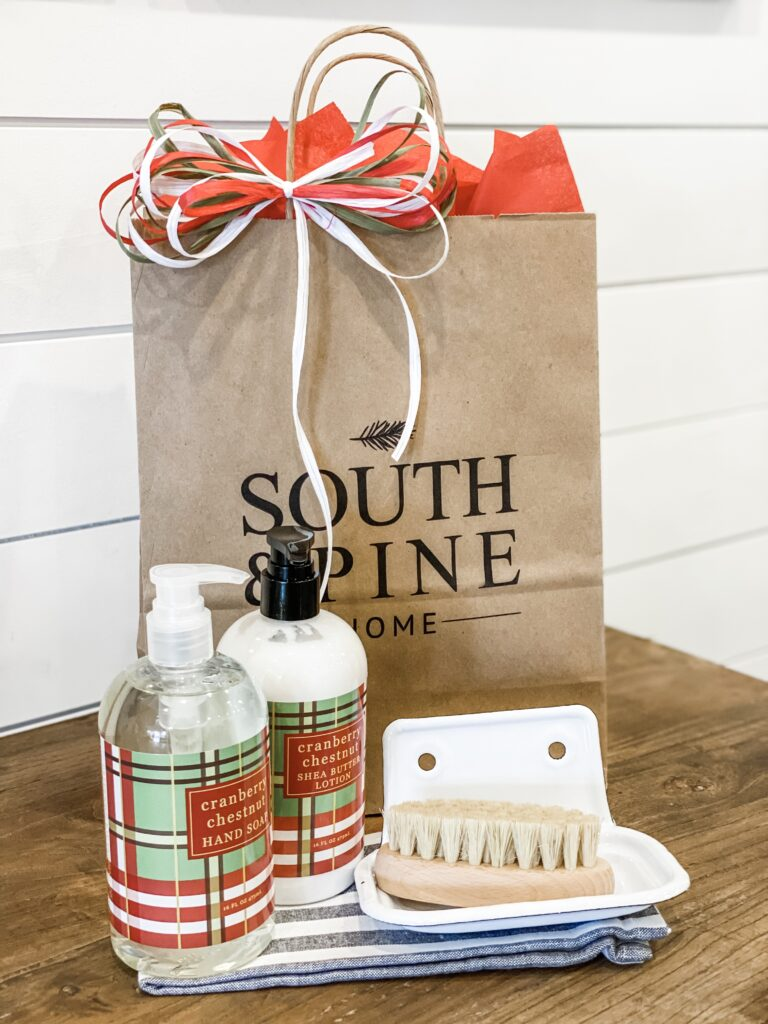 South and Pine Home in Madison, Alabama | If you're interested in adding a bit of holiday flair to an interior area of your home - whether it's a bathroom, holiday tree, tabletop, or neglected corner - Delashaw has items all staged together and ready for you to take home now.