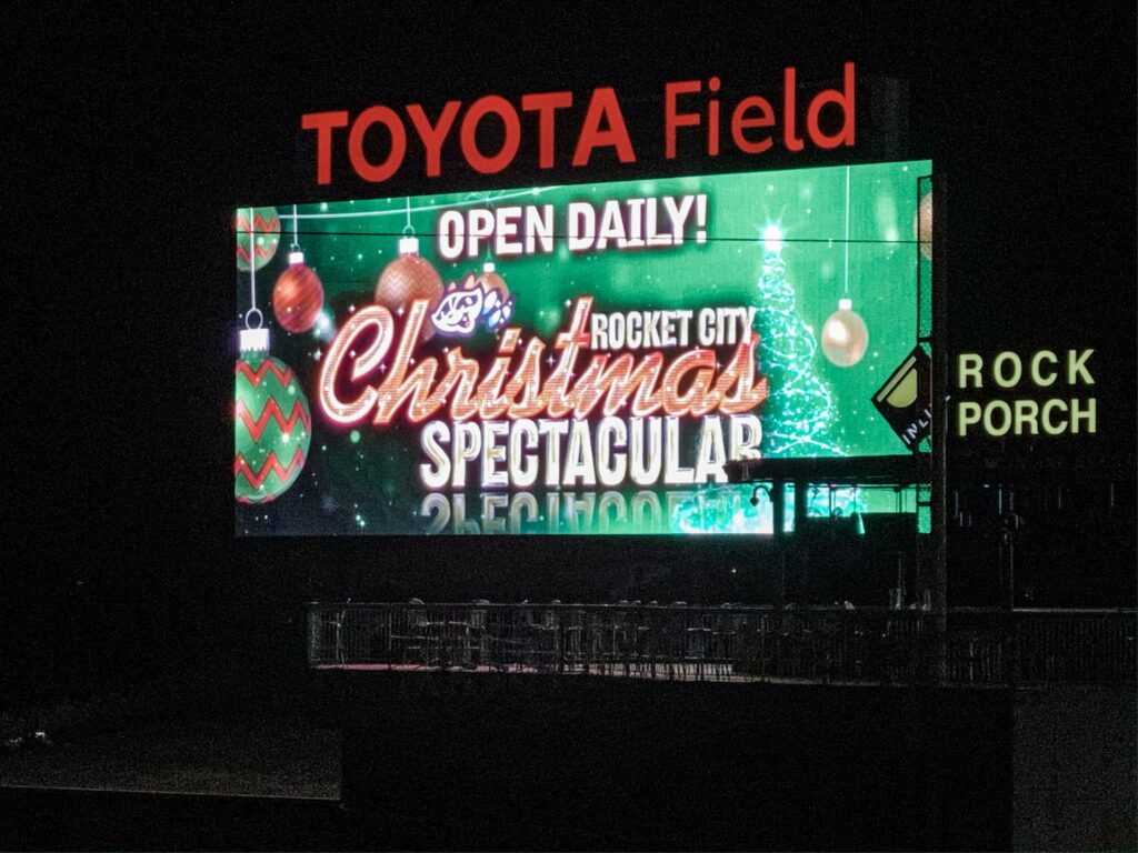 A Review of the Rocket City Christmas Spectacular at Toyota Field