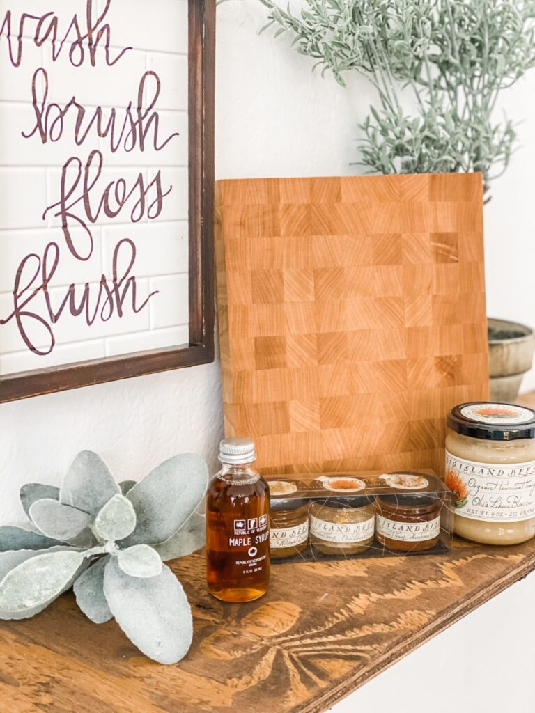Lemon and Lavender in Madison, Alabama is a retail store in downtown historic Madison. Products for sale include bath salts, kitchen towels, home decor, and more.