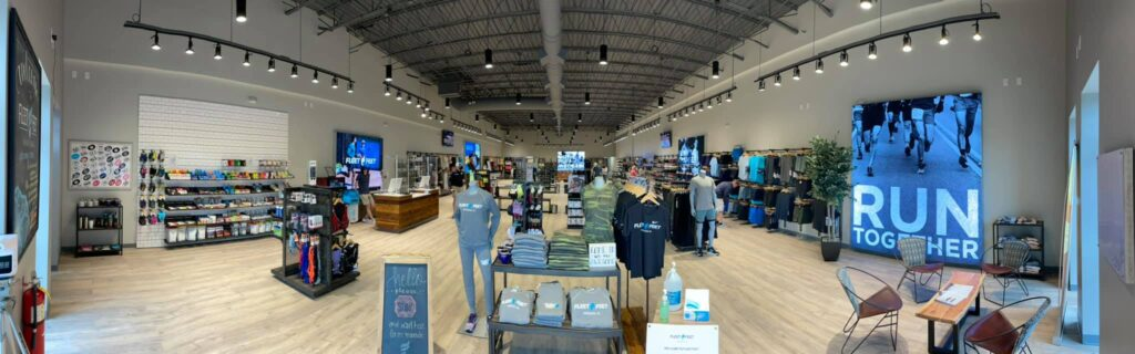 Fleet Feet in Madison, Alabama | Fleet feet offers running and fitness apparel and products of all kinds, but their flagship product is their collection of tennis shoes.