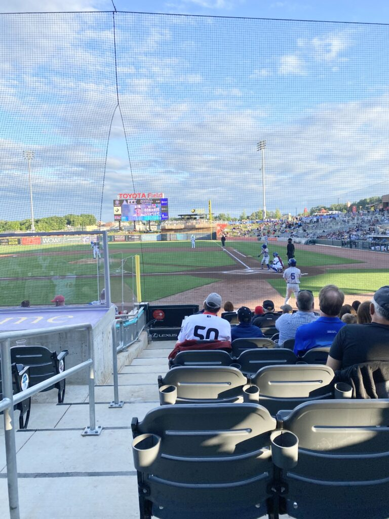 Our First Rocket City Trash Pandas Baseball Game Experience | If attending a game is on your radar, here's a rundown of our experience as first-timers.