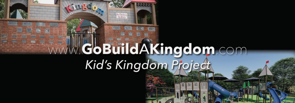 Madison, Alabama | Kid's Kingdom Renovation | Early concepts on the playground include sensory elements, face-to-face swings, a car or rover that allows for wheelchair access (but is fun for all), wide stairways and low angles, as well as many elements for those that have various mobility impairments.