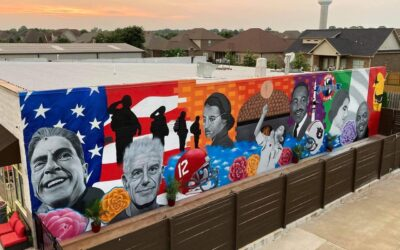 Behind the Must-See, Awe-Inspiring New Mural at Valentina's Pizzeria and Wine Bar