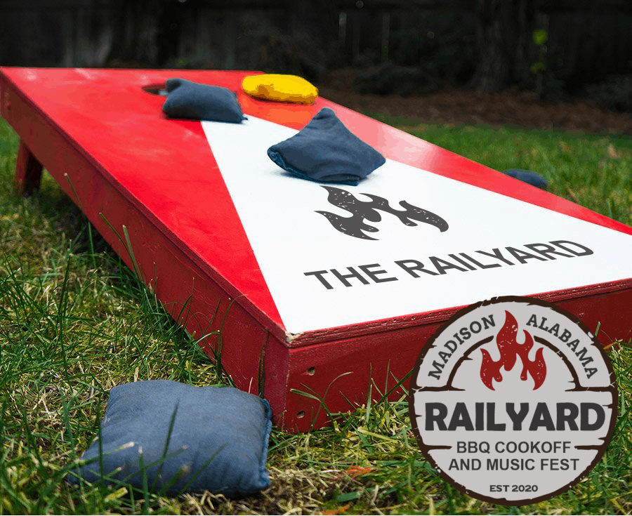 Railyard BBQ and Music Festival in Madison, Alabama | The event will consist of a BBQ competition, a cornhole tournament, and an afternoon/evening of live music that concludes with award-winning country artist Rodney Atkins.